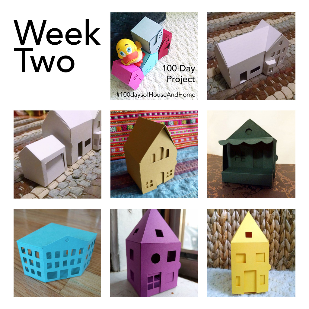 Week 2: 100 Days of House and Home
