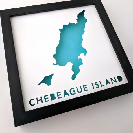 Map of Chebeague Island, Maine
