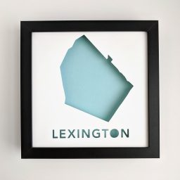 Map of Lexington, MA