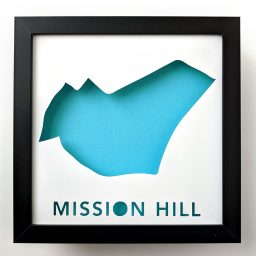 Mission Hill Boston map