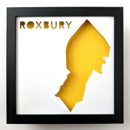 Map of Roxbury, MA