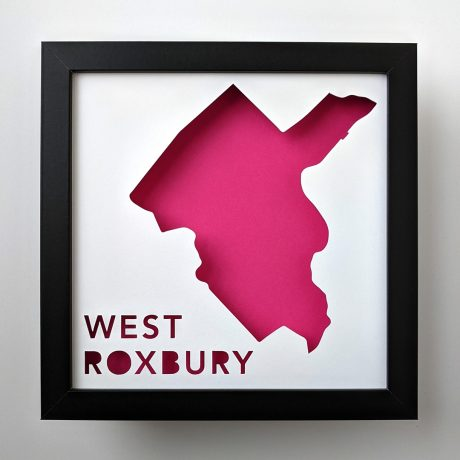West Roxbury, Boston Neighborhood Map